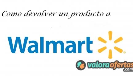 Cómo devolver un producto en Walmart