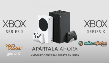 ¡Preventa Xbox Series X/S ya disponible!